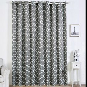 Trellis curtain panels set of 2